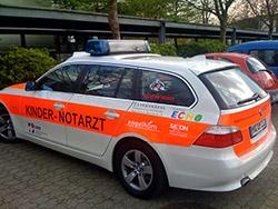 Neues Kindernotarzt-Einsatzfahrzeug für die Uniklinik Mannheim